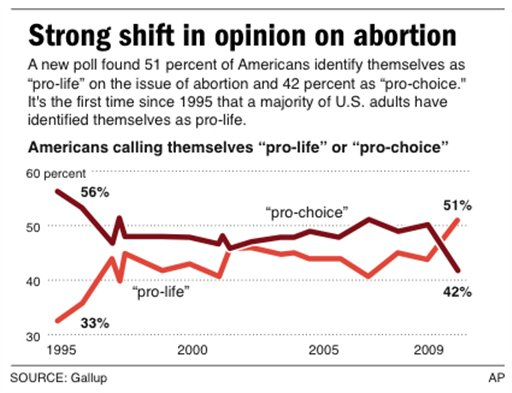 an analysis of the issues of abortion and the pro life and pro choice views