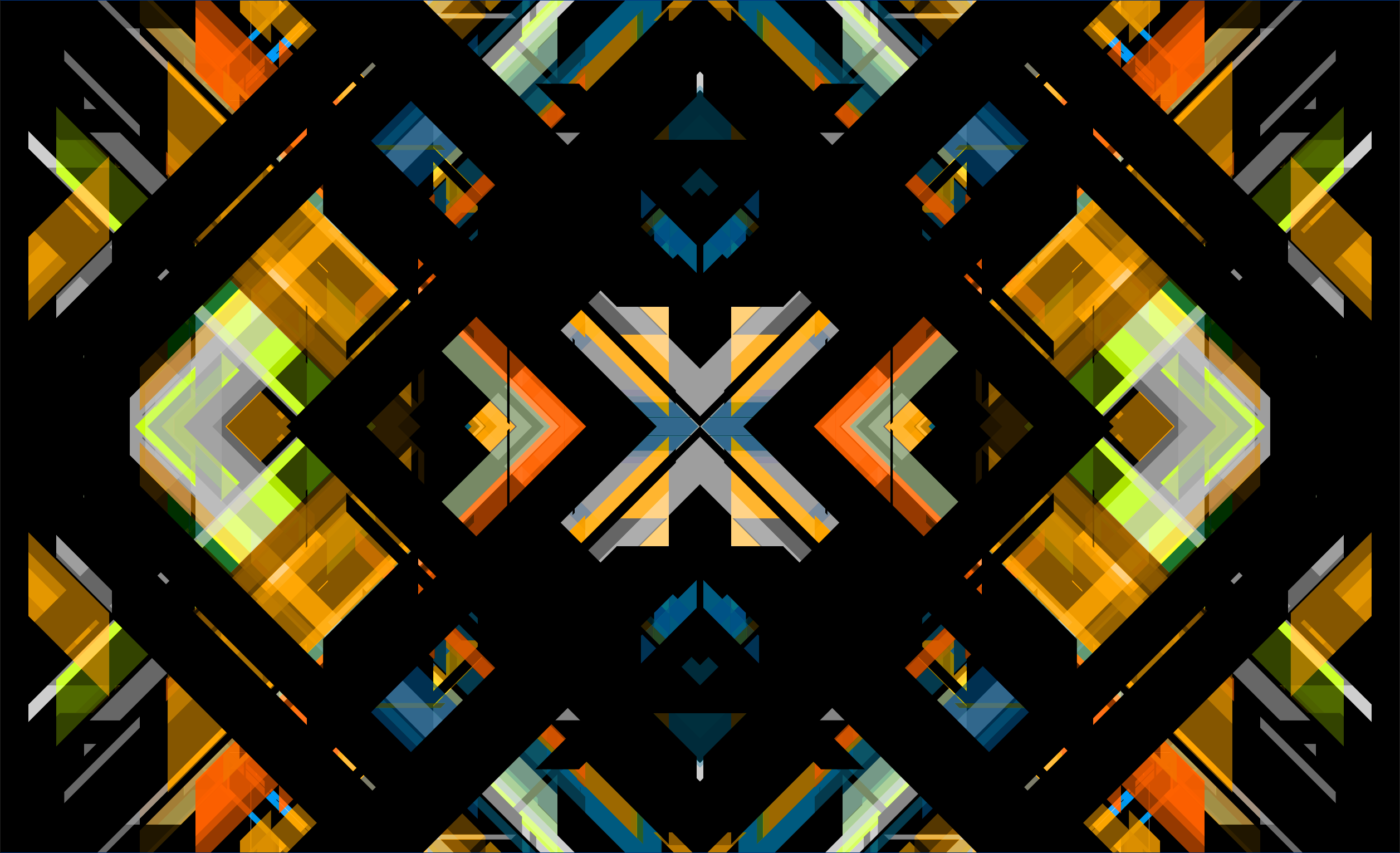 Visual made with Processing