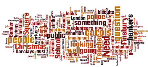 Occupy LFS Wordle